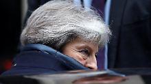 """Forderung nach """"hartem Brexit"""": Konservative erhöhen Druck auf May"""