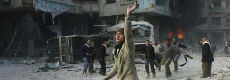 Feuerpause in Syrien gefordert: Sicherheitsrat soll über Ost-Ghuta beraten
