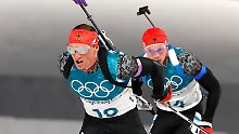 "Der Sport-Tag: Lesser vor Biathlon-Finale: ""Wir haben Großes vor"""