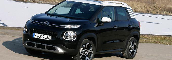 Der extrovertierte Bruder: Citroën C3 Aircross will sich absetzen