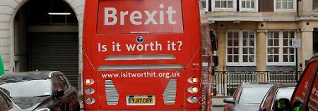 """""""Brexit - ist es das wert?"""" Immer weniger Eu-Bürger wandern nach Großbritannien ein."""