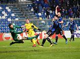 Europaliga-Krampf in Bergamo: Dortmund kommt weiter - mit Glück