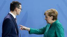 EU-Geld für Flüchtlingsaufnahme: Polen wettert gegen Merkels Bedingungen