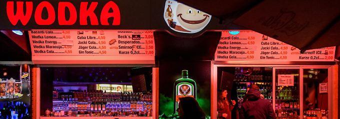 Feiertouristen mögen's billig: St. Pauli kämpft gegen Trinkkioske