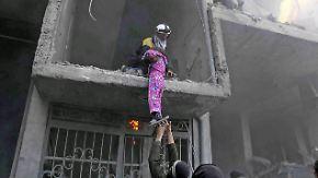 Zivilisten leiden unter Dauerbeschuss: Russland lehnt Waffenruhe in Ost-Ghuta ab