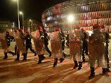 Polizist stirbt nach Herzinfarkt: Fußball-Krawalle in Bilbao schocken Spanien