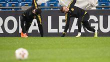 Der Sport-Tag: BVB trifft auf Red Bull, Rasenballsportler erwarten Zenit