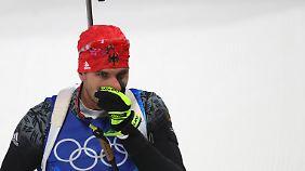 Peiffer patzt - die Mixed-Staffel bleibt medaillenlos.