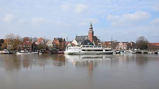 Abgebrannt, aber glücklich: Leer war mal die ärmste Stadt Deutschlands