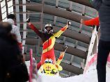 Dreifach-Triumph für Deutschland: Friedrich gewinnt Gold im Viererbob