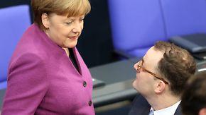 Frischer Wind im Gesundheitsministerium: Merkel holt Kritiker Spahn ins Kabinett