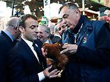 """""""Wir werden einen Hühnerstall im Elysée aufmachen."""""""