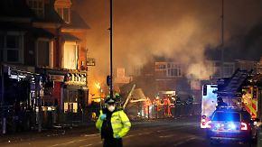 Vier Tote in Leicester: Explosion bringt Gebäude zum Einsturz