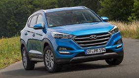 Auch der Hyundai Tucson erfreut sich weltweit großer Beliebtheit.
