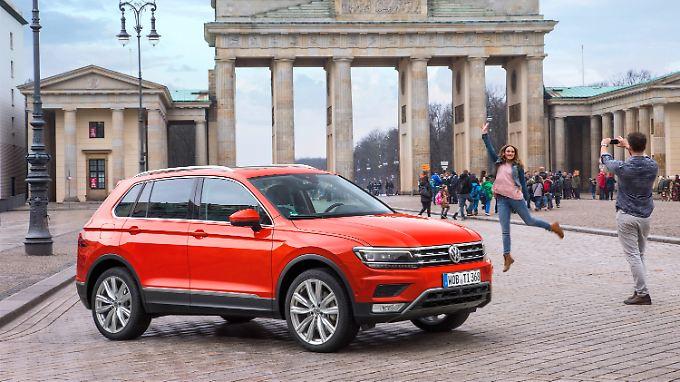 Der VW Tiguan verkauft sich gut, ist aber nicht die Nummer eins der Weltrangliste.