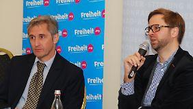 Frank Richter und Benjamin Giesa sprechen in Cottbus über Wählerfrust und Populismus.