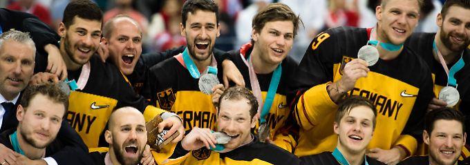 Nach Olympia ist vor Playoffs: Eishockey-Helden müssen wieder ran