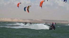 Rasant auf Marokkos Wellen: Nachwuchsstar surft Deutschland zur Kite-Nation