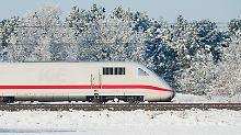 Sturm, Starkregen, Schnee: Bahn will für Extremwetter aufrüsten