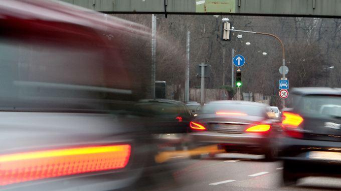 Das Stuttgarter Neckartor hat besonders mit Feinstaub und Stickoxid zu kämpfen.
