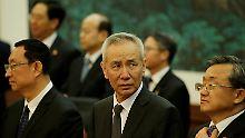 Einer der mächtigsten Männer Chinas: Liu He.