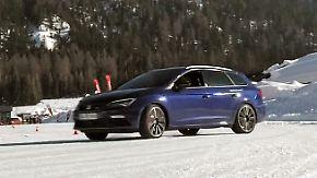 Übung macht den Meister: Seat lädt zum Drifttraining auf Eis und Schnee