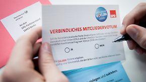 """Kein Plan B nach Mitgliedervotum: SPD-Spitze rechnet fest mit """"Ja"""" zur GroKo"""