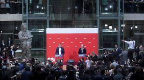 Zwei Drittel sagen Ja: SPD-Mitglieder machen Weg frei für Große Koalition