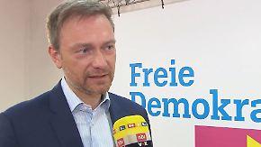 """Christian Lindner im n-tv Interview: Bei Handelskrieg """"müsste man auch über Apple und Google nachdenken"""""""