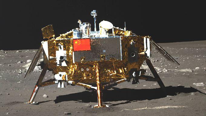 Vor fünf Jahren setzte China erstmals einen Rover auf dem Mond ab. Dieses Jahr will die Raumfahrnation auf der erdabgewandten Seite landen.