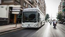 Mit E-Antrieb im Nahverkehr: Daimler fährt mit Elektrobussen in Zukunft