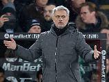 Fast-Blamage bei Tabellen-18.: Manchester United duselt sich zum Sieg