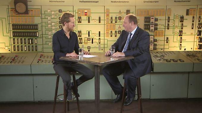 """Helge Braun bei Klamroths Konter: """"Ich bin Helge Schneider total dankbar"""""""