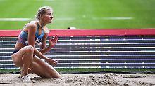 Darja Klishina darf bislang als neutrale Athletin starten - doch das könnte ihr die IAAF bald verbieten.