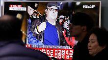 """""""Zeigt rücksichtslose Natur"""": USA: Nordkorea tötete Kims Halbbruder"""