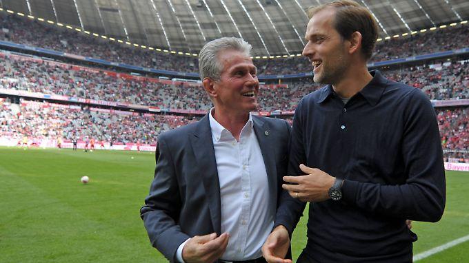 Jupp Heynckes sieht in Thomas Tuchel seinen potenziellen Nachfolger.