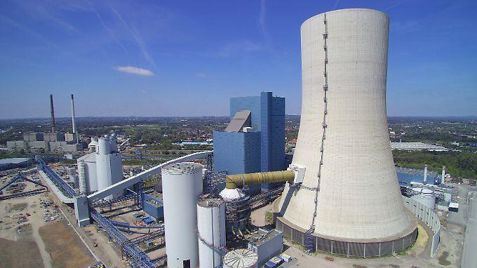 Kraftwerksneubau in NRW: Die Anlage am Standort Datteln kommt auf eine geplante Nennleistung von 1052 Megawatt.