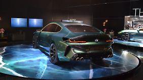 Der BMW M8 Gran Coupe lebt als Studie vorerst vom Design.