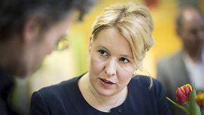 Stühlerücken bei der SPD: Franziska Giffey wechselt ins Bundeskabinett