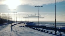 WM-Countdown (96): Das WM-Stadion in St. Petersburg ist ein Ufo