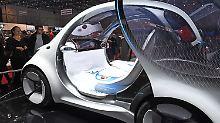 Ganz ohne Lenkrad: Deutsche Unis entwickeln autonomes Auto