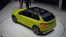 Der Skoda Vision X ist der Ausblick auf ein SUV auf Fabia-Basis.