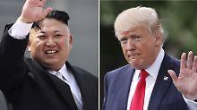 Sensation im Nordkorea-Konflikt: Donald Trump will Kim Jong Un treffen