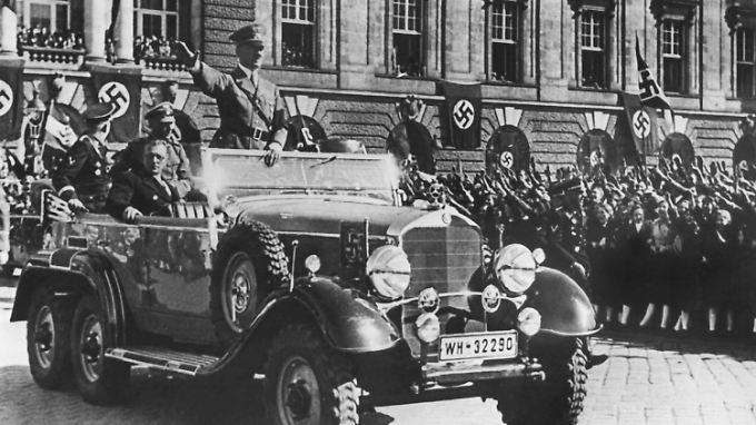 """Der """"Triumphzug"""" Hitlers in Wien wurde propagandistisch perfekt vorbereitet und inszeniert."""