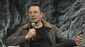 """""""Gefährlicher als Atomwaffen"""": Tesla-Chef Musk warnt vor Künstlicher Intelligenz"""