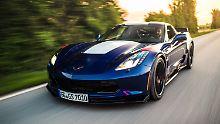 Mal wieder Sport treiben?: Corvette Coupé - brachiales US-Urgestein