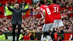 Mourinho muss mit Manchester United im Rückspiel gegen Sevilla liefern.