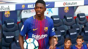 Ob sich der Wechsel von Borussia Dortmund zum FC Barcelona (sportlich) gelohnt hat, weiß wohl nur Ousmane Dembélé selbst.
