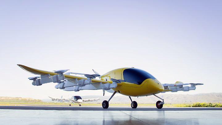Das Flugprojekt wird von dem aus Deutschland stammenden Wissenschaftler Sebastian Thrun geleitet.