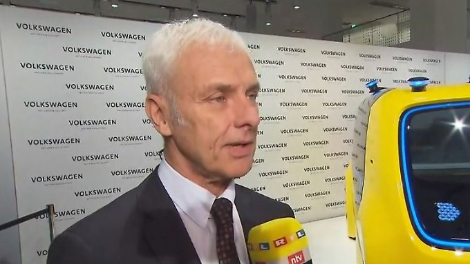 """VW-Chef Müller im Interview: """"Es gibt keinen Grund für Fahrverbote"""""""